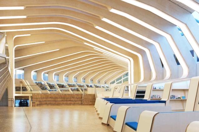挪威文納斯拉圖書館Norway Vennesla Library不可思議!世界上最美的圖書館5.jpg