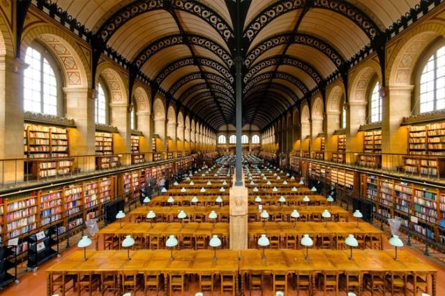 法國巴黎聖日內維耶圖書館Bibliothèque Sainte-Geneviève不可思議!世界上最美的圖書館4.jpg