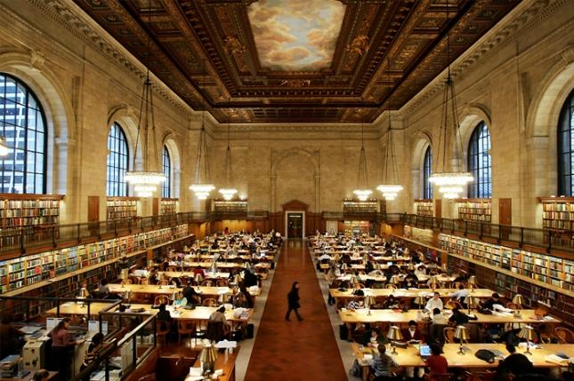 美國紐約公共圖書館New York Public Library不可思議!世界上最美的圖書館2.jpg