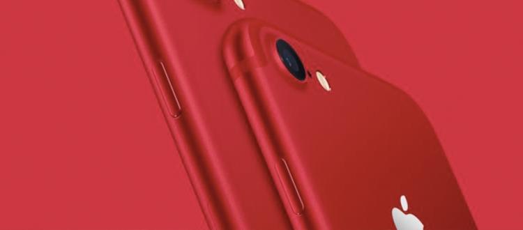 蘋果發布了紅色 iPhone 7、低價 iPad、新SE 和錶帶0