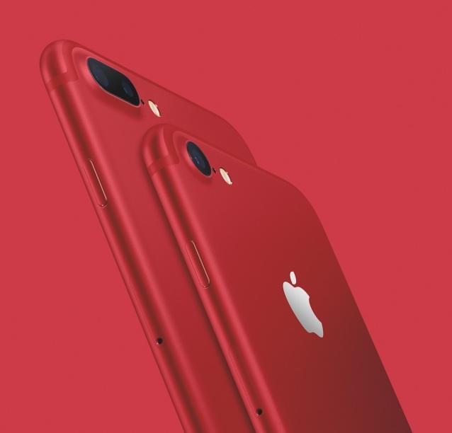 """蘋果發布了紅色 iPhone 7、低價 iPad、""""新""""SE 和錶帶1.jpg"""