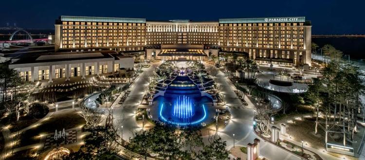 韓國仁川飯店推薦!享受PARADISE CITY(百樂達斯城度假村)頂級豪華之旅